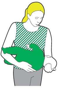 Recovery position baby