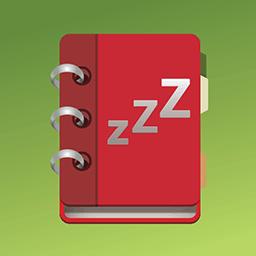 Sleep diary app icon