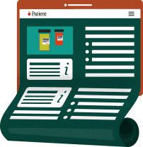 Information leaflet onscreen