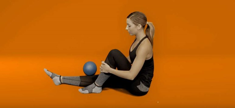 Knee pain exercises - range of movement