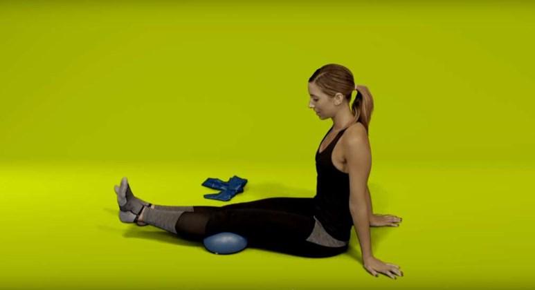Knee pain exercises - inner range quads