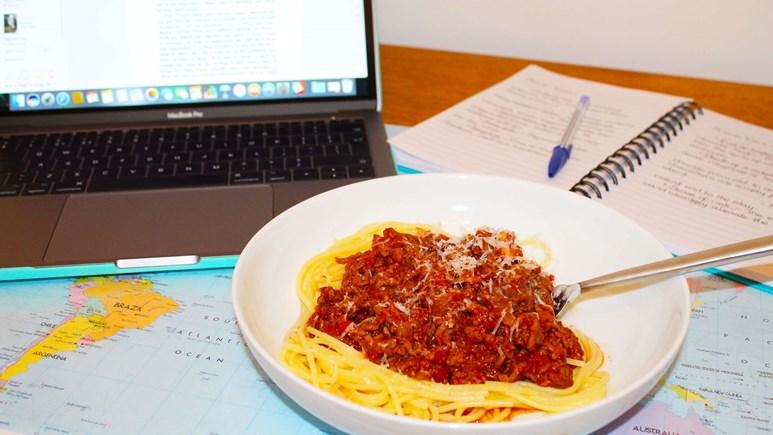 Recipe: Spaghetti bolognese for students