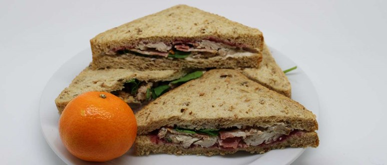 A Christmas sandwich is not as unhealthy as you might think, but watch your portion size