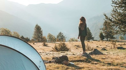 How to deal with your period when camping