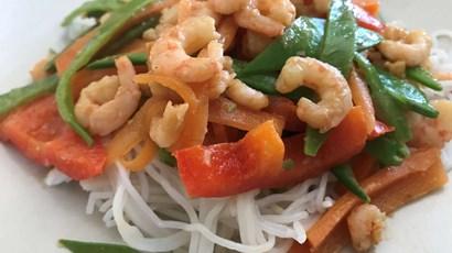 Prawn Satay Noodles