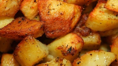 How to make healthy roast potatoes
