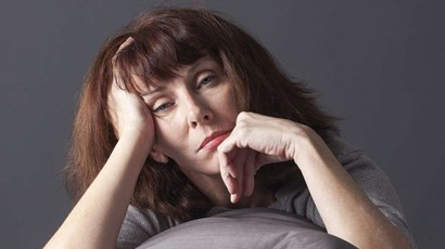 What is postmenopausal depression?