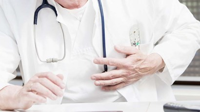 What does a doctor do when they have a heart attack?