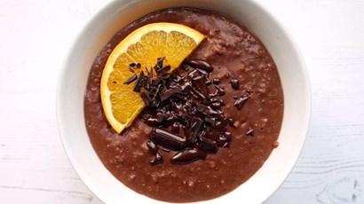 Recipe: Chocolate orange porridge