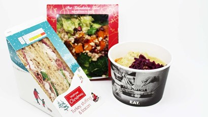 What's the healthiest high street Christmas sandwich?