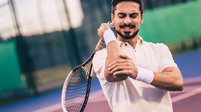 Tennis elbow treatment options