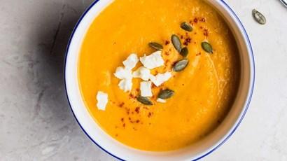 Pumpkin patch soup