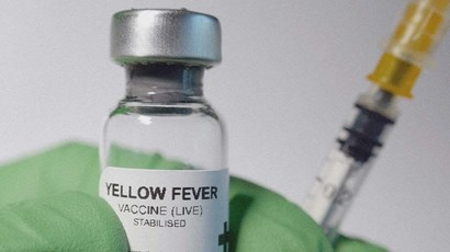 What side effects are associated with the yellow fever vaccine?