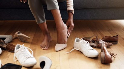 What your shoes can tell you about your feet