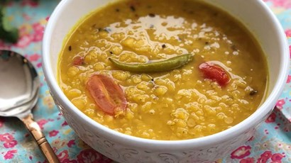 Bengali red split lentil dal