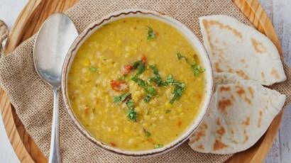 Bengali red split lentil dal