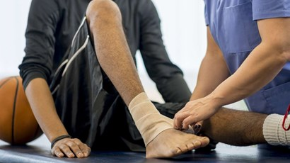 Recovering from a sports injury